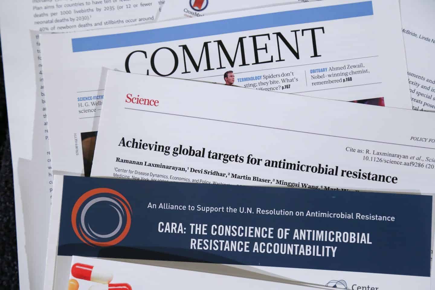 CARA: The Conscience of Antimicrobial Resistance Accountability, and the next big thing for CDDEP