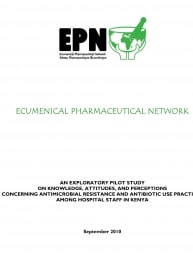 An Exploratory Pilot Study on Knowledge, Attitudes, and Perceptions Concerning Antimicrobial Resistance and Antibiotic Use Practices among Hospital Staff in Kenya