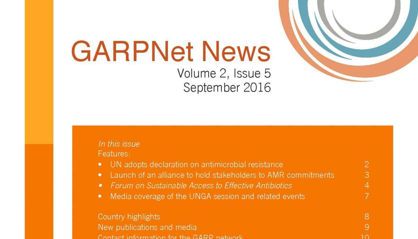 GARPNet News Volume 2 Issue 5