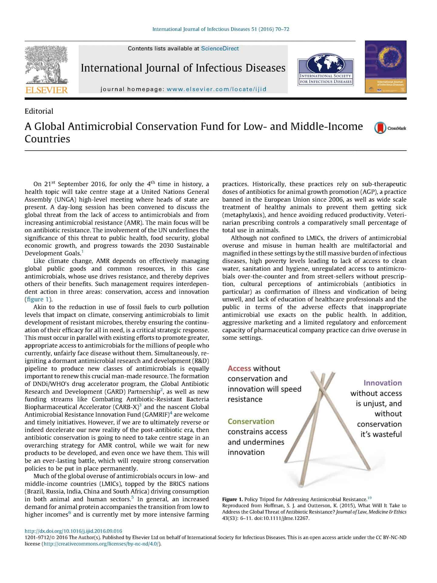 A Global Antimicrobial Conservation Fund for Low- and Middle-Income Countries