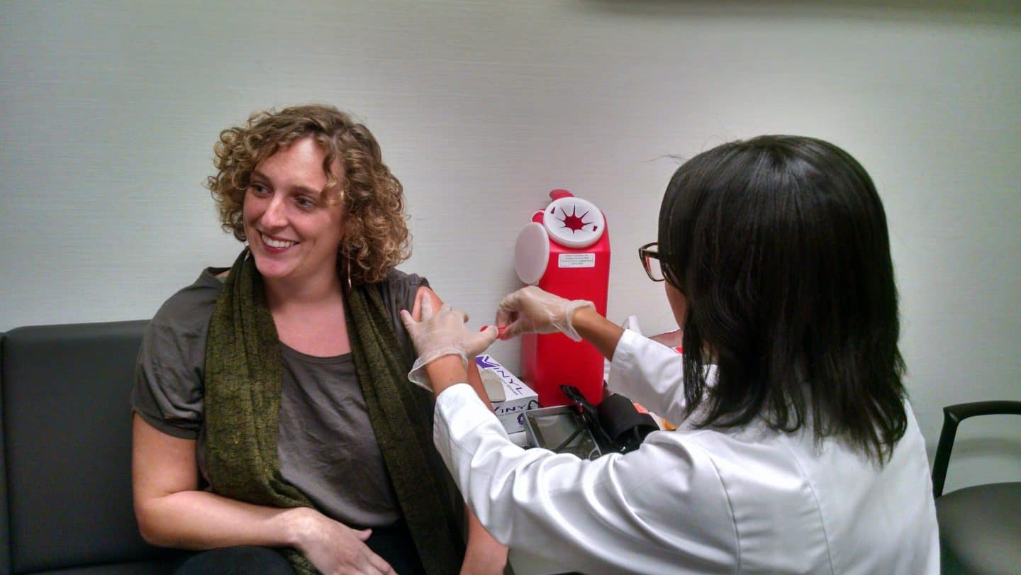 Want to help fight antibiotic resistance this winter? Get a flu shot.