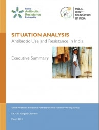 Situation Analysis: Antibiotic Use and Resistance in India, Executive Summary