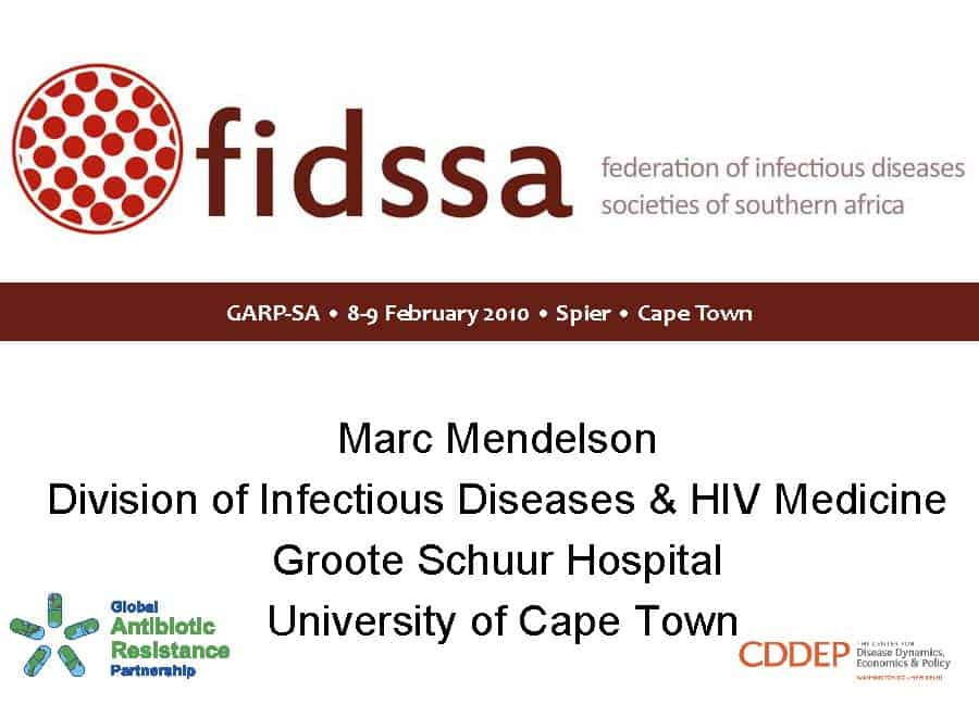 The Federation of Infectious Diseases Society of Southern