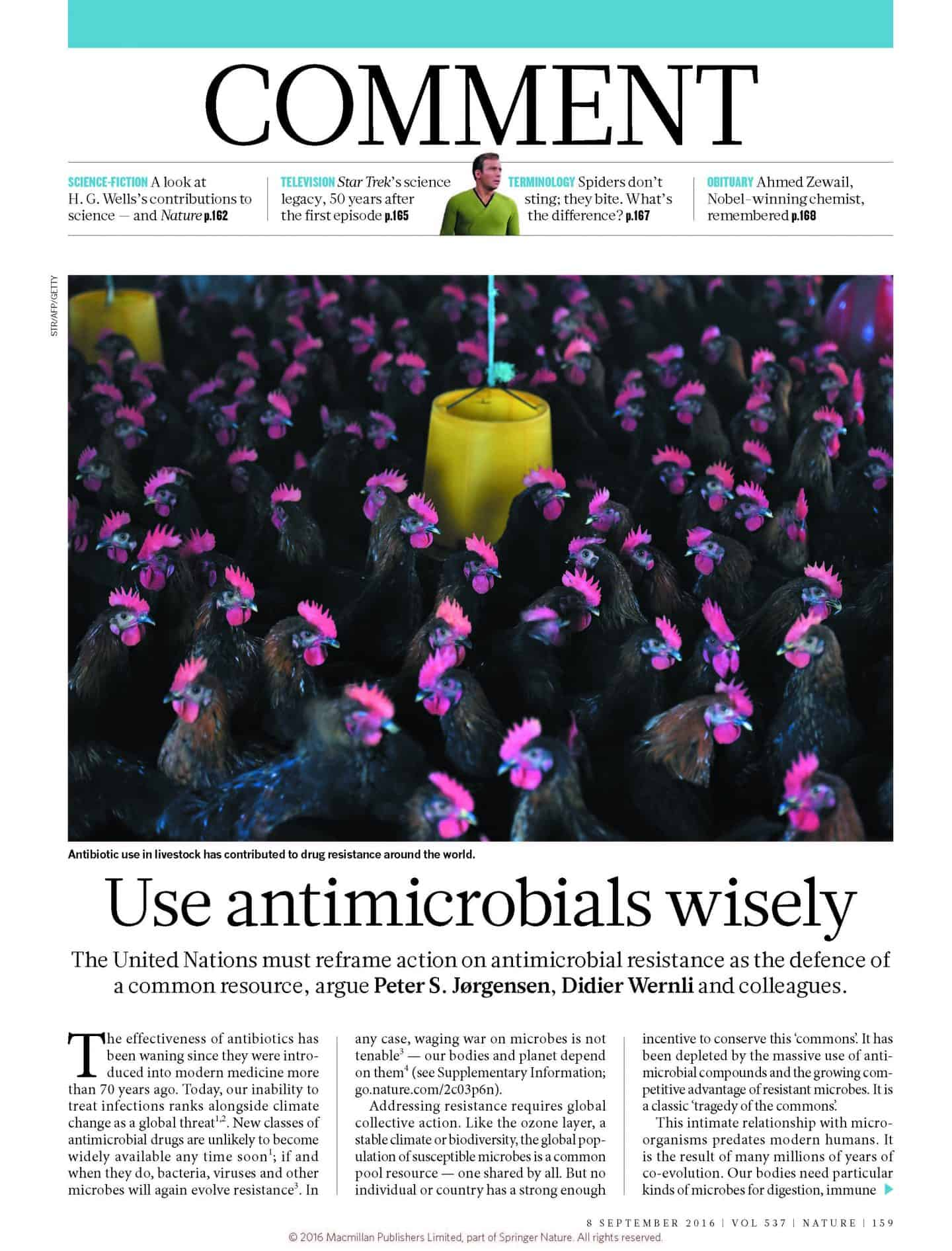 Use antimicrobials wisely