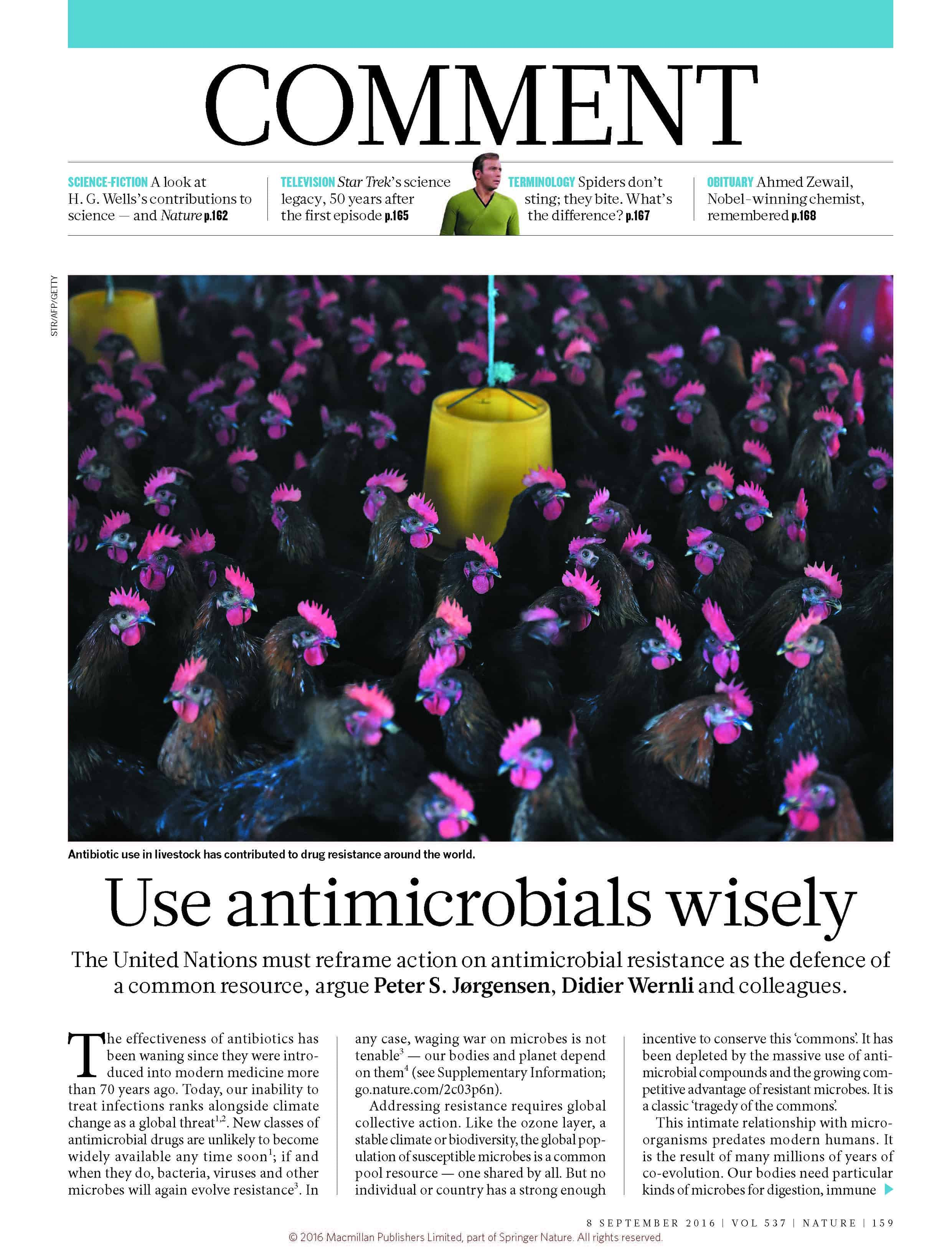 Use Antimicrobials Wisely - Center for Disease Dynamics