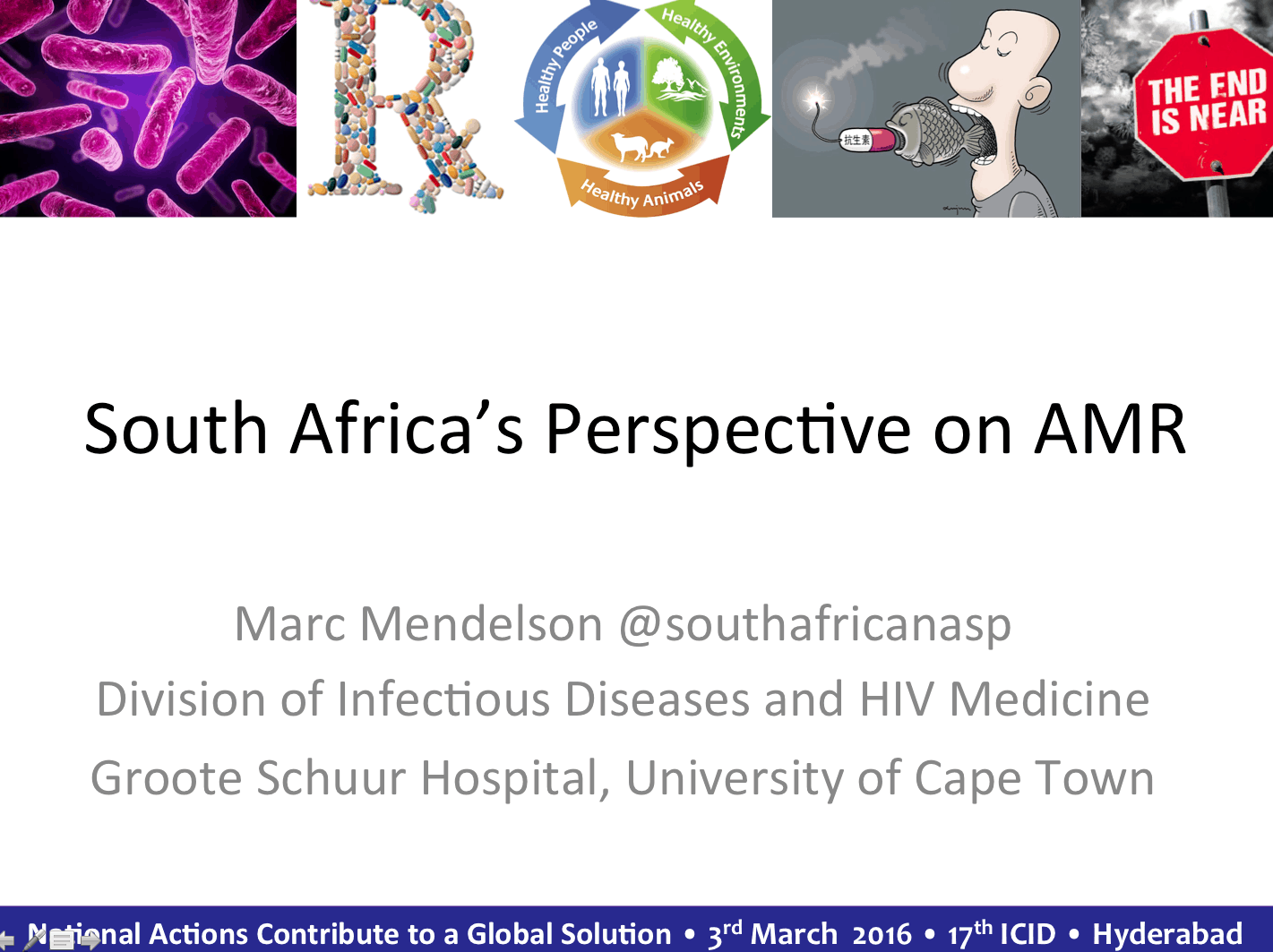 South Africa's Perspective on AMR