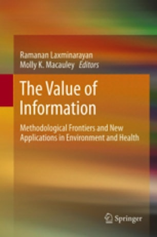 The Value of Information: Methodological Frontiers and New Applications in Environment and Health